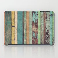 wooden iPad Cases featuring Wooden Vintage  by Patterns and Textures