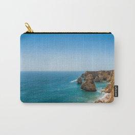 Beach at Lagoa, Algarve, Portugal Carry-All Pouch
