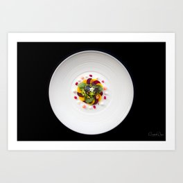 The Art of Food Colours of Nature 2 Art Print