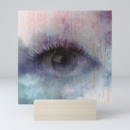 So true an eye Mini Art Print