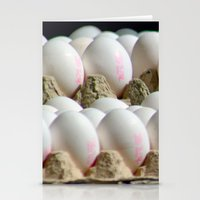 eggs Stationery Cards featuring EGGS by Avigur