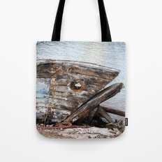 Fish Boat Tote Bag