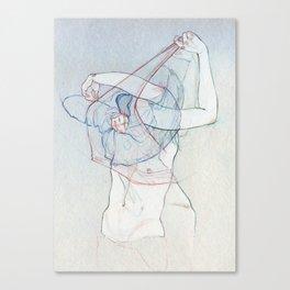 Doble obs. Canvas Print