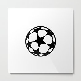 League Champions Ball Metal Print