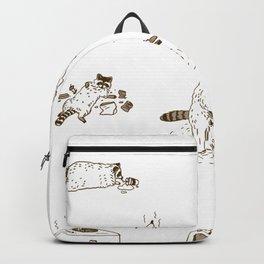I love trash Backpack