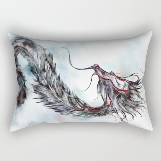 cool sketch 144 Rectangular Pillow