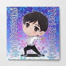 Yuri Katsuki Metal Print