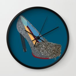 Haight Ashbury Heel Wall Clock