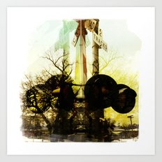 Crossing Art Print