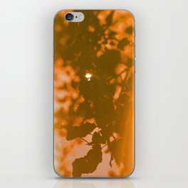 orange haze and white sunlight iPhone Skin