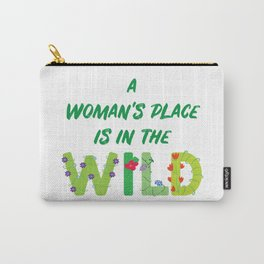 Women in the Wild Carry-All Pouch