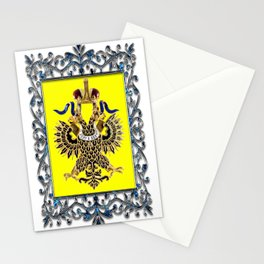 Antique Russian Medal Stationery Cards