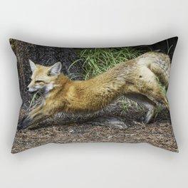 Curious Fox Rectangular Pillow