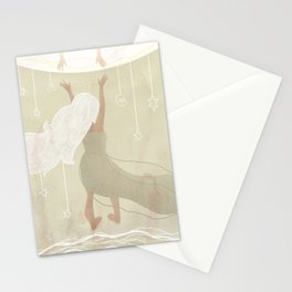 White Mirror Stationery Cards