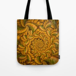 Feather Storm Tote Bag