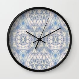 Pattern of clouds 03 Wall Clock