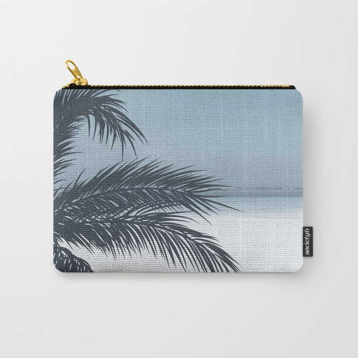 Palm and Ocean Carry-All Pouch