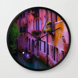 Venice Color Wall Clock