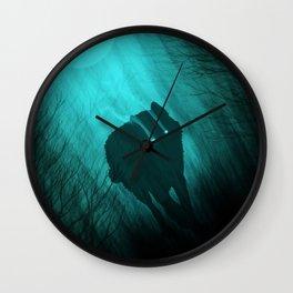 Full Moon Alpha Wall Clock