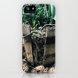 A broken part iPhone Case