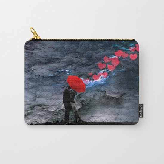 Love Valentine's Day Carry-All Pouch