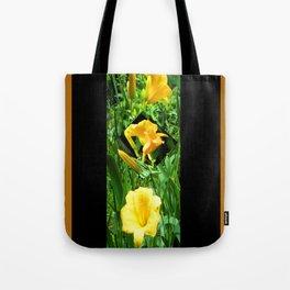Flora Gold II Tote Bag