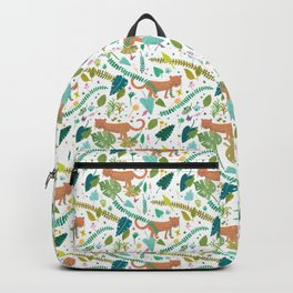 Roar Sweet Tigers in the Jungle Backpack