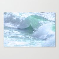 splash Canvas Prints featuring SPLASH by Teresa Chipperfield Studios