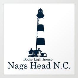 Nags Head - North Carolina. Art Print