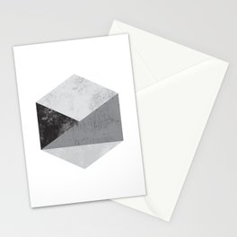 Hexagon Art Stationery Cards