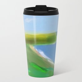 God Bless and Keep Guam Safe Travel Mug