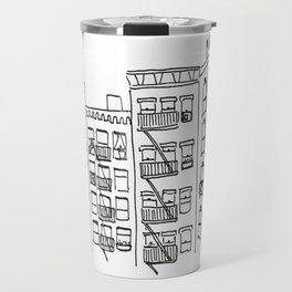 Pigeons of New York Travel Mug