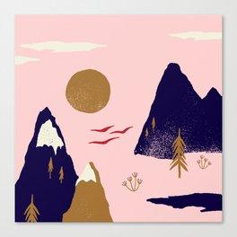 Mountain Scape Canvas Print