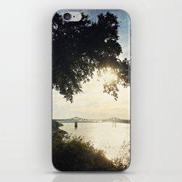 Mississippi River at Natchez iPhone Skin