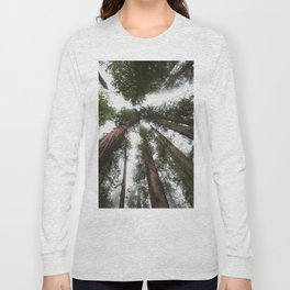 Redwood Portal - nature photography Long Sleeve T-shirt