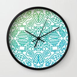 Decorative Pattern 3 Wall Clock