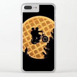 Stranger cookie Clear iPhone Case