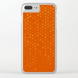 virgo zodiac sign pattern yo Clear iPhone Case