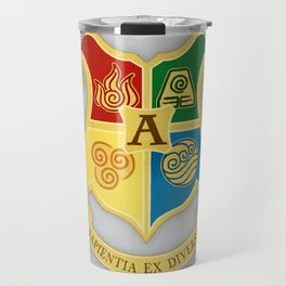 The Avatar School of Bending Travel Mug