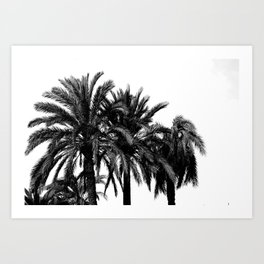Black and white landscape II Art Print