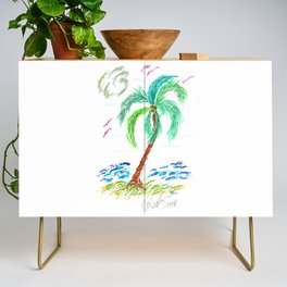 """Beach Afternoon"" Credenza"