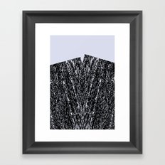 maserung Framed Art Print