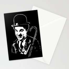 CHARLIE CHAPLIN THE COMIC GENIUS Stationery Cards