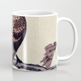 Crossbill Traditional Japanese Wildlife Coffee Mug