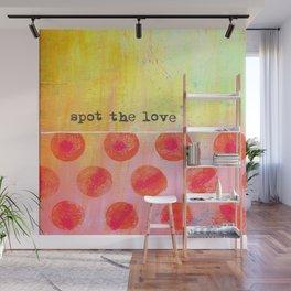"""Spot The Love"" An original design by PhillipaheART Wall Mural"