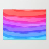 wave Canvas Prints featuring Wave by Baris erdem