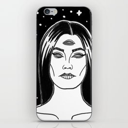 I See Nothing iPhone Skin