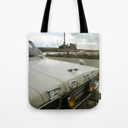 Travel Away on a Rainy Day Tote Bag