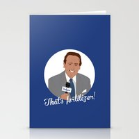 scully Stationery Cards featuring Vin Scully by Eric J. Lugo