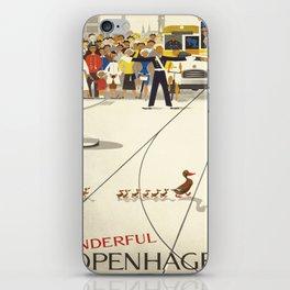Vintage poster - Copenhagen iPhone Skin